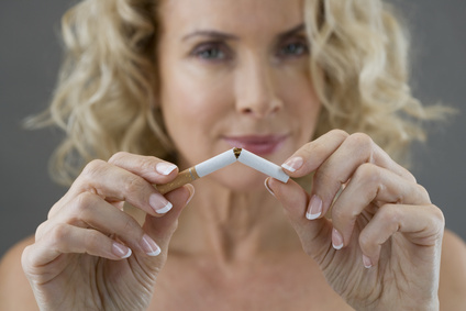 Glücklicher Nichtraucher werden