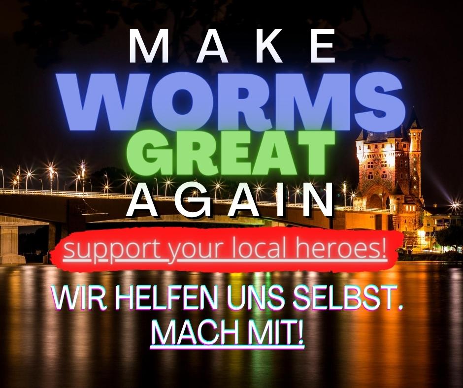 Wormser Firmen helfen